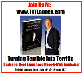 "Careers Unplugged Member Bonus Free Chapter From Dennis book ""Turn Terrible into Terrifc"""