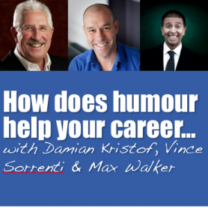 How does humour help your career